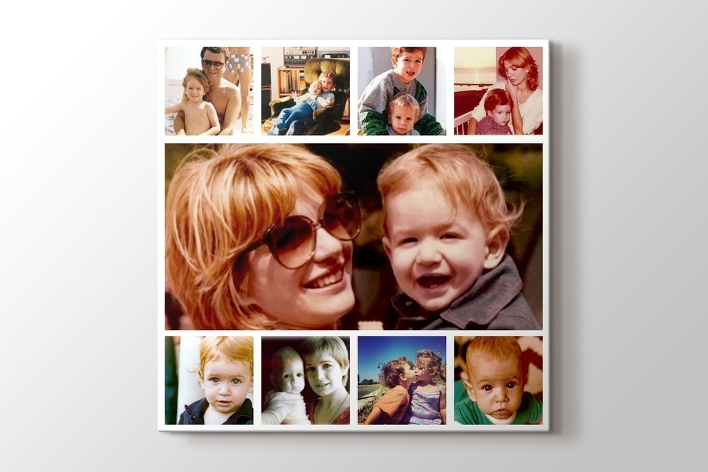 Picture of 9 photos square collage