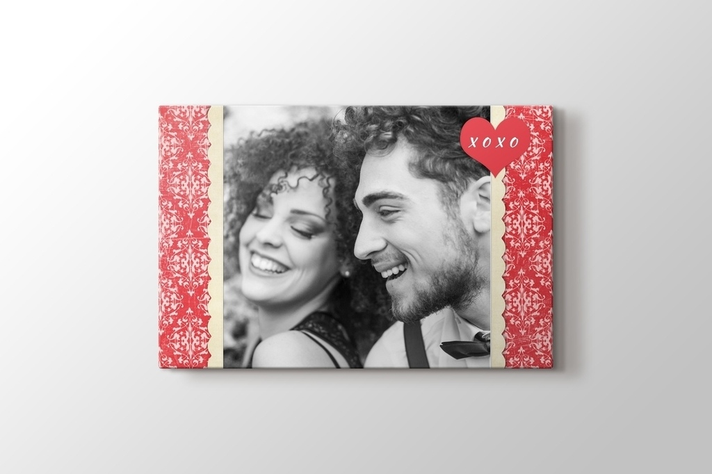 Picture of Gift for Valenrine Canvas Print