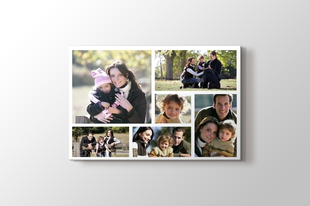 Picture of 6 photos horizontal collage