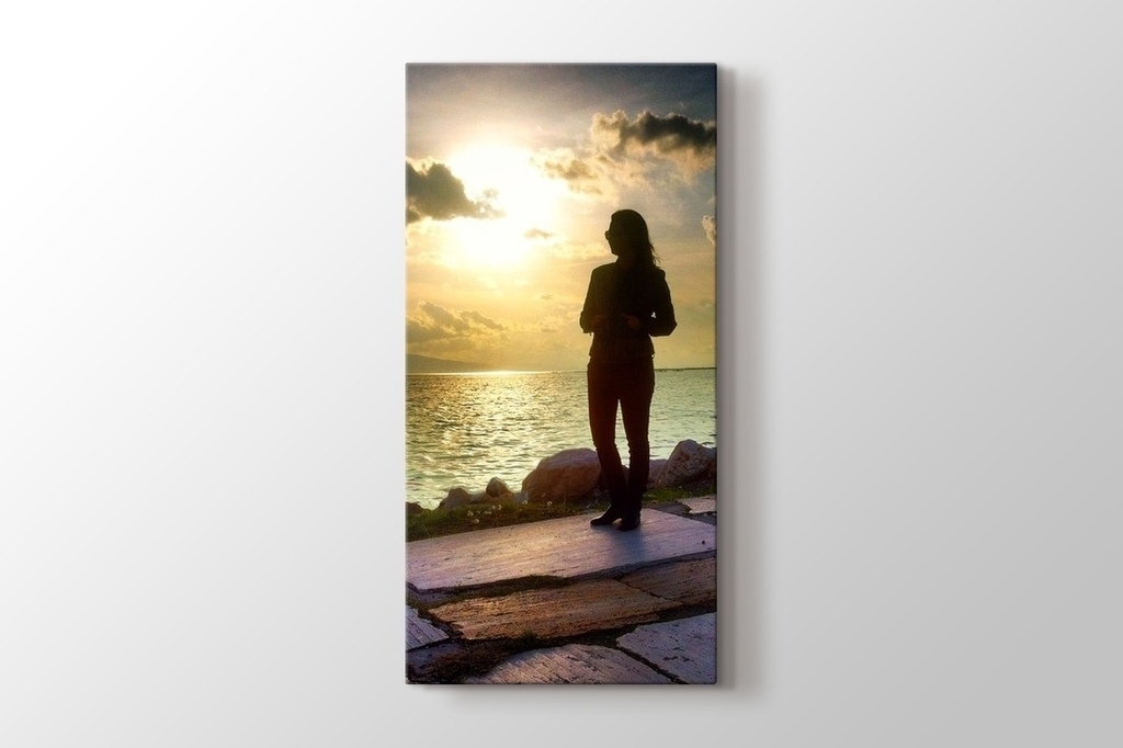 Picture of Vertical Photo on Canvas
