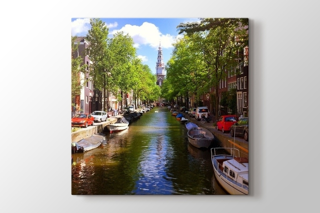 Picture of Square Photo on Canvas