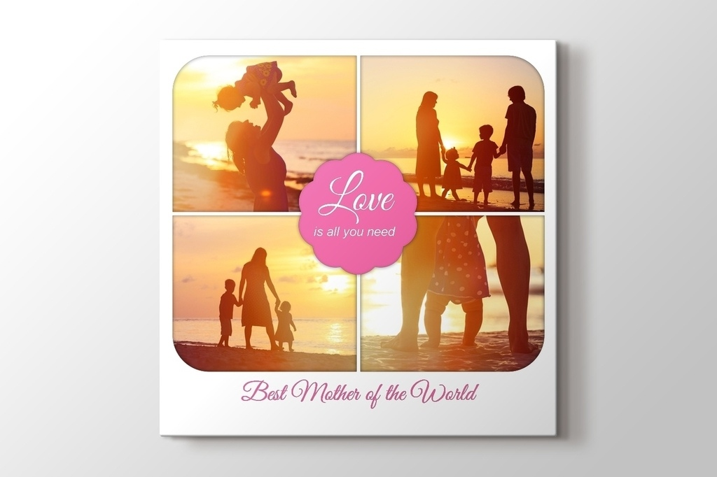 Picture of Mothers Day Photo Canvas Print
