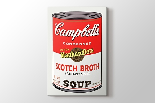 Picture of Campbells Soup I 1968