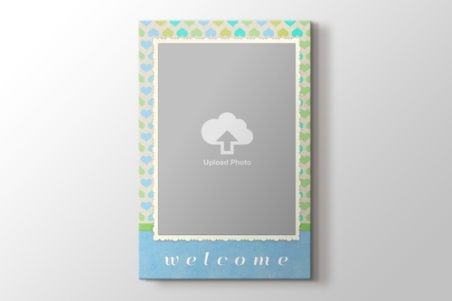 Picture of Welcome Gift for Baby Boy Canvas Print