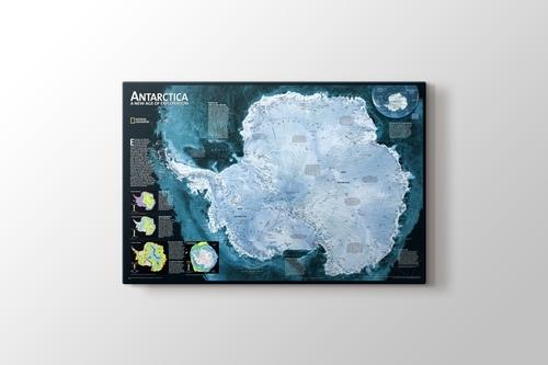 Picture of Antarctica Map