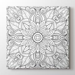 Mandala & Coloring Canvas Prints - PlusCanvas