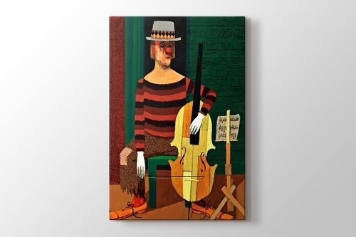 Picture of Clown Playing Cello