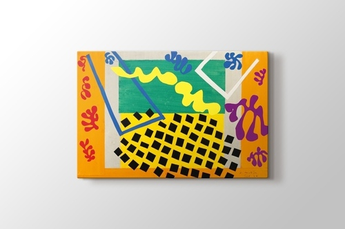 Nu Bleu II - 19... Matisse Bathers With A Turtle