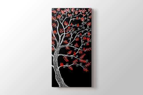 Picture of Red Leafed Tree II