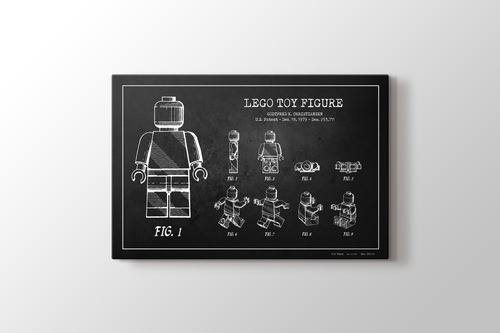 Picture of Lego Toy Figure Patent