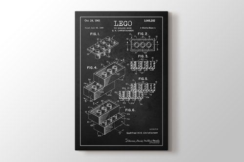 Picture of Lego Toy Building Brick Patent
