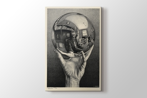 Picture of Hand with a Reflecting Sphere 1935