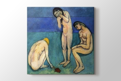 Picture of Bathers with a Turtle