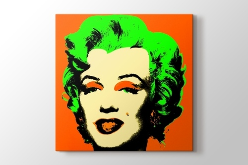 Picture of Marilyn in Orange