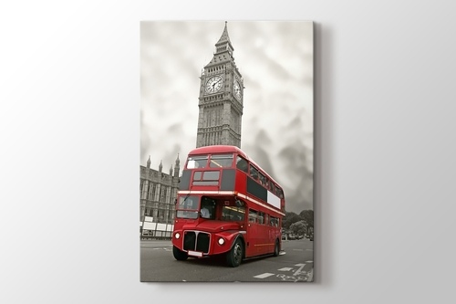 Picture of Red Bus and Big Ben