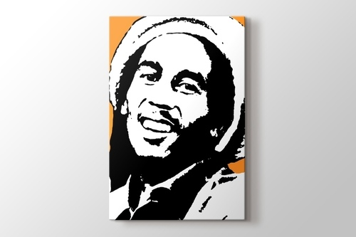 Picture of Bob Marley - Orange