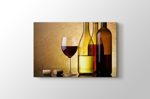Picture of White Red And Pink Wine