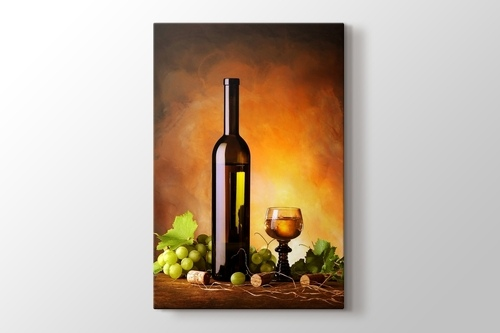 Picture of Wine and Grapes