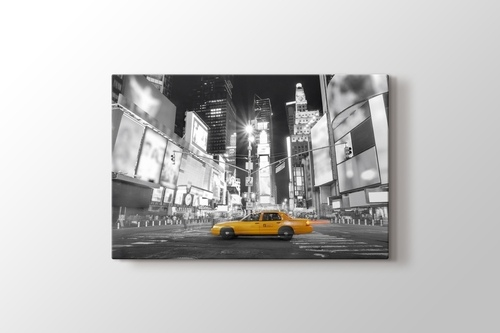 Picture of Yellow Cab by Night