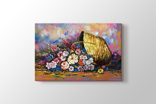 Picture of Flower in the Basket