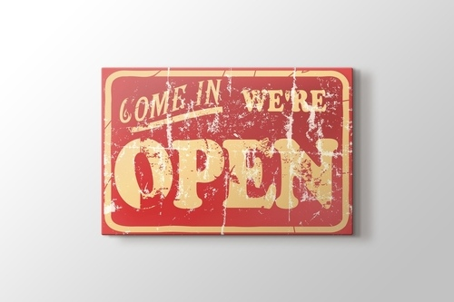 Picture of We are Open