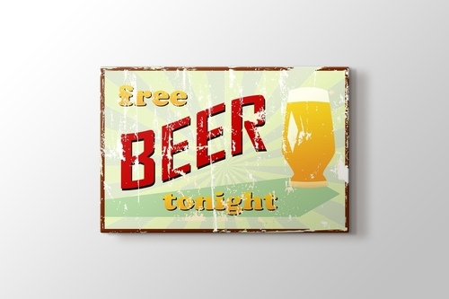 Picture of Vintage Beer Poster