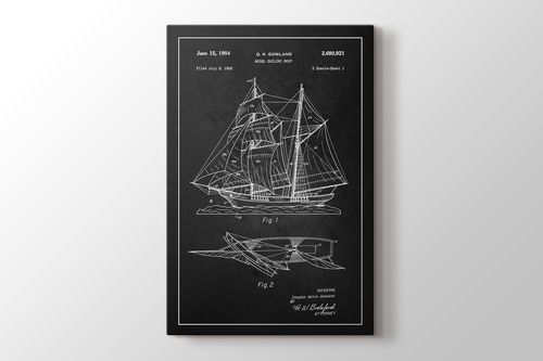 Picture of Sailing Ship Patent