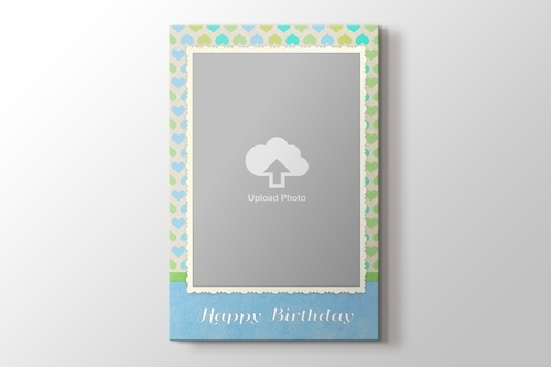 Picture of Happy Birthday Canvas Print Gift