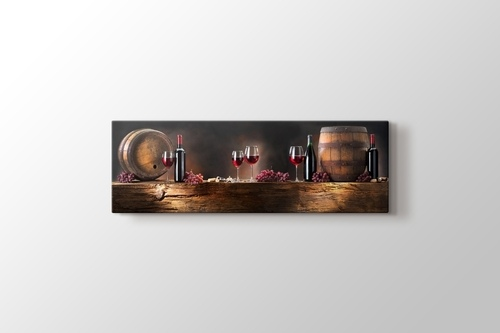 Picture of Wine and Barrel