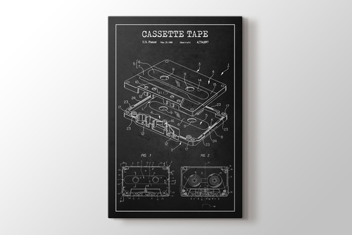 Picture of Cassette Tape Patent
