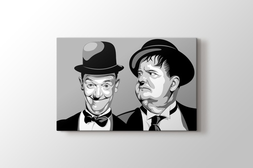 Picture of Laurel and Hardy