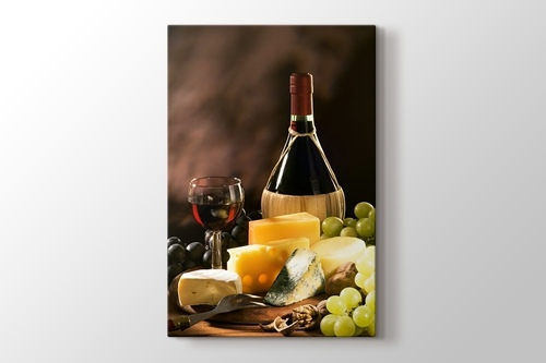 Picture of Cheese and Wine