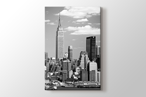 Picture of Empire States Building BW