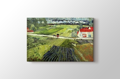 Picture of Landscape with Carriage and Train