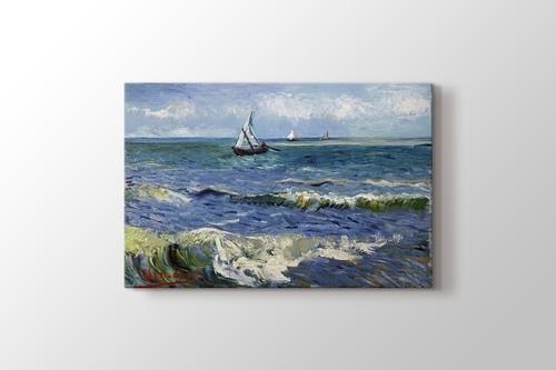 Picture of Seascape near Les Saintes-Maries-de-la-Mer
