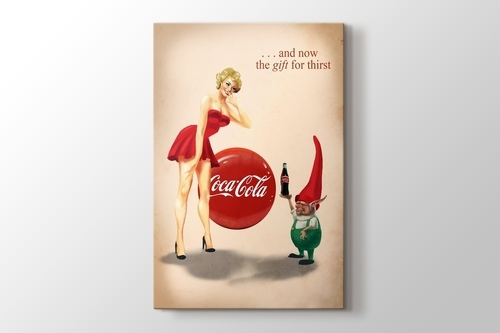 Picture of Coca Cola - The Gift for Thirst