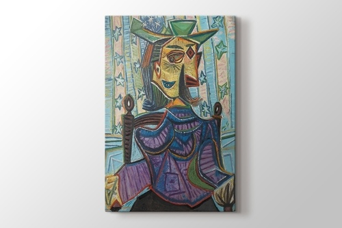 Picture of Pablo Picasso - Dora Maar in an Armchair