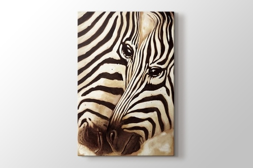 Picture of Zebras In Love