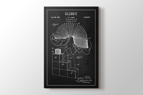 Picture of Slinky Patent