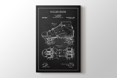 Picture of Roller Skate Patent