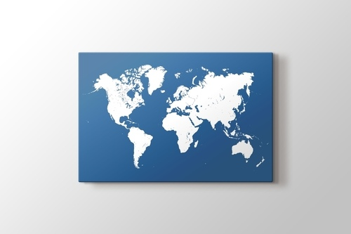 Picture of Blue Map