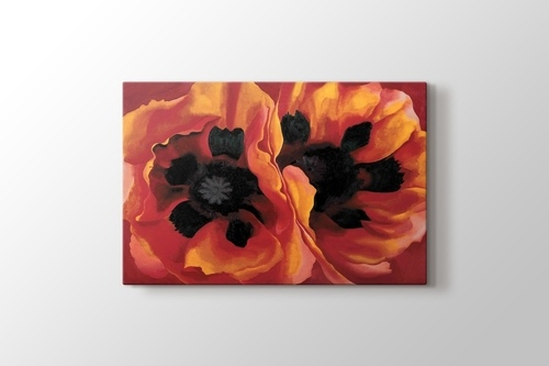 Picture of Georgia O'Keeffe - Oriental Poppies