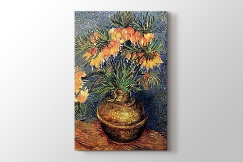 Picture of Still Life Vase with Fifteen Sunflowers