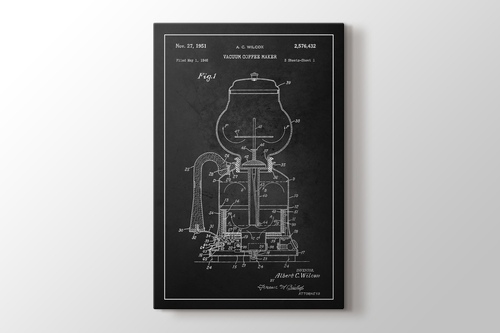 Picture of Vacuum Coffee Maker Patent