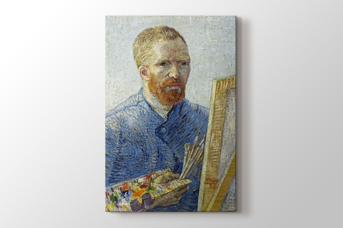 Picture of Self Portrait as a Painter 1887-1888