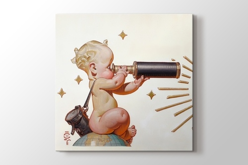 Picture of Retro Telescope Baby