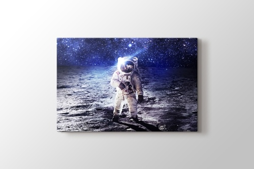Picture of Astronaut on the Moon