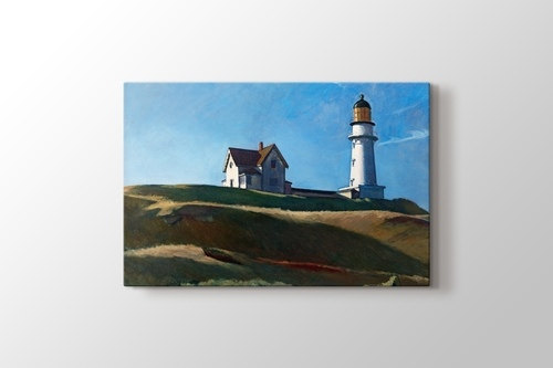 Picture of Edward Hopper - Lighthouse Hill
