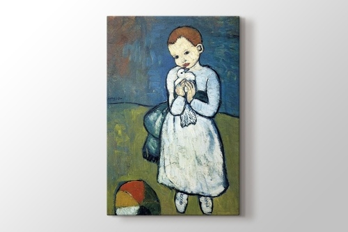 Picture of Child with a Dove