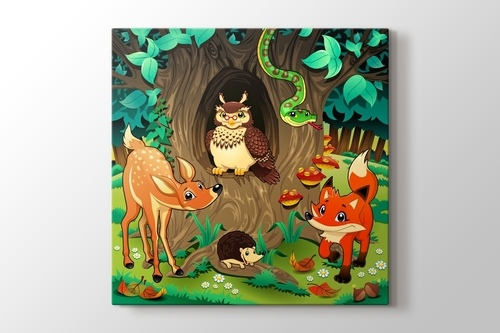Picture of Animals in the Forest